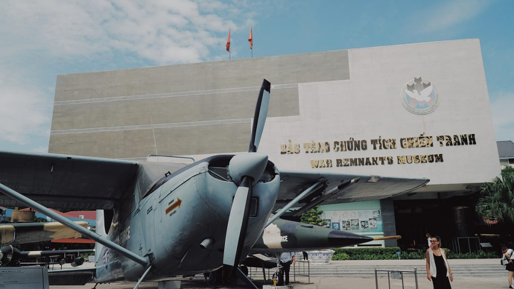 Vietnam War Remnants Museum in Ho Chi Minh City