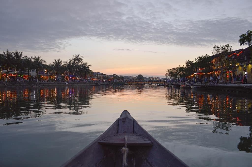 Hoai river hoi an