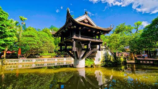 One Pillar Pagoda in Ha noi