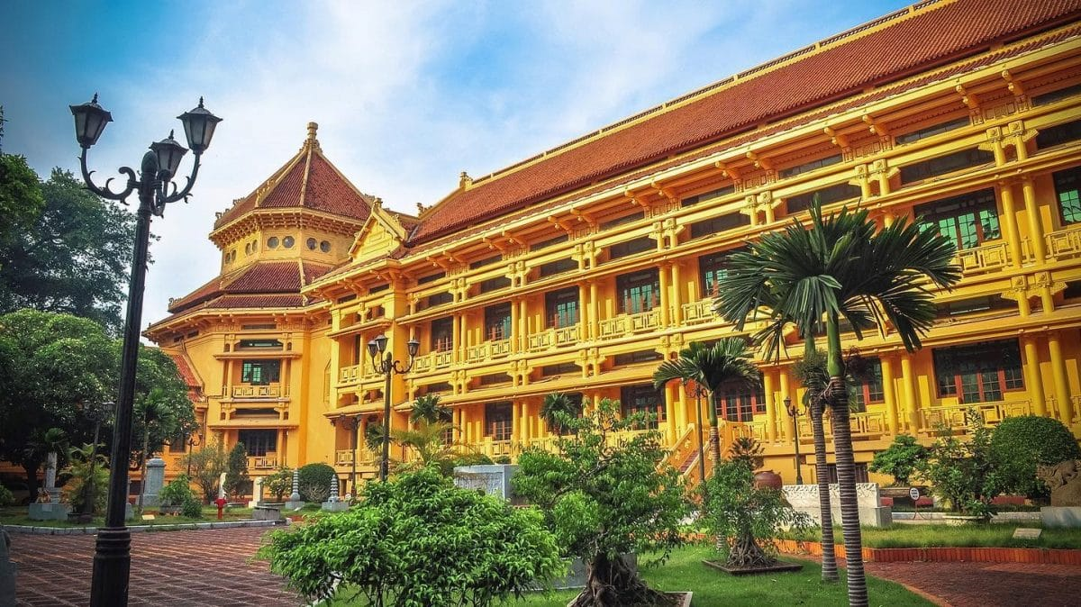 The Vietnam National Museum of History in Ha Noi