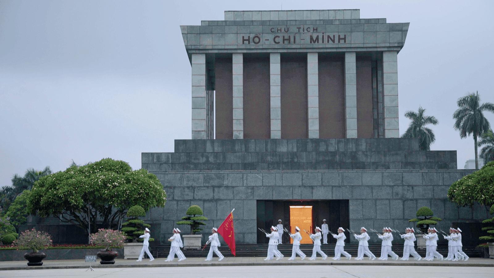 Ho Chi Minh Mausoleum in Ha Noi