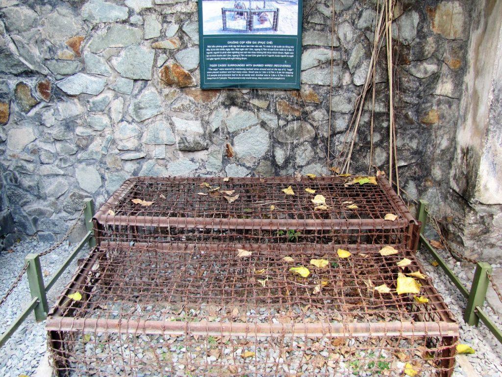 tiger cages war remnants museum saigon ho-chi minh vietnam