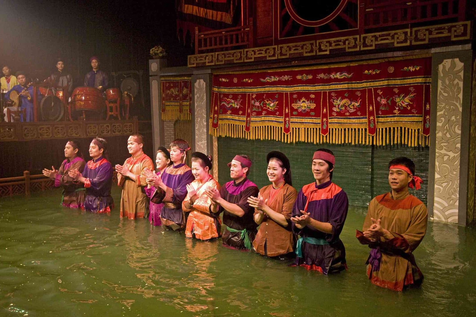 Vietnamese Theater: The Water Puppet Show in Hanoi - Water Puppet Show Artists