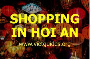 Shopping in Hoi An