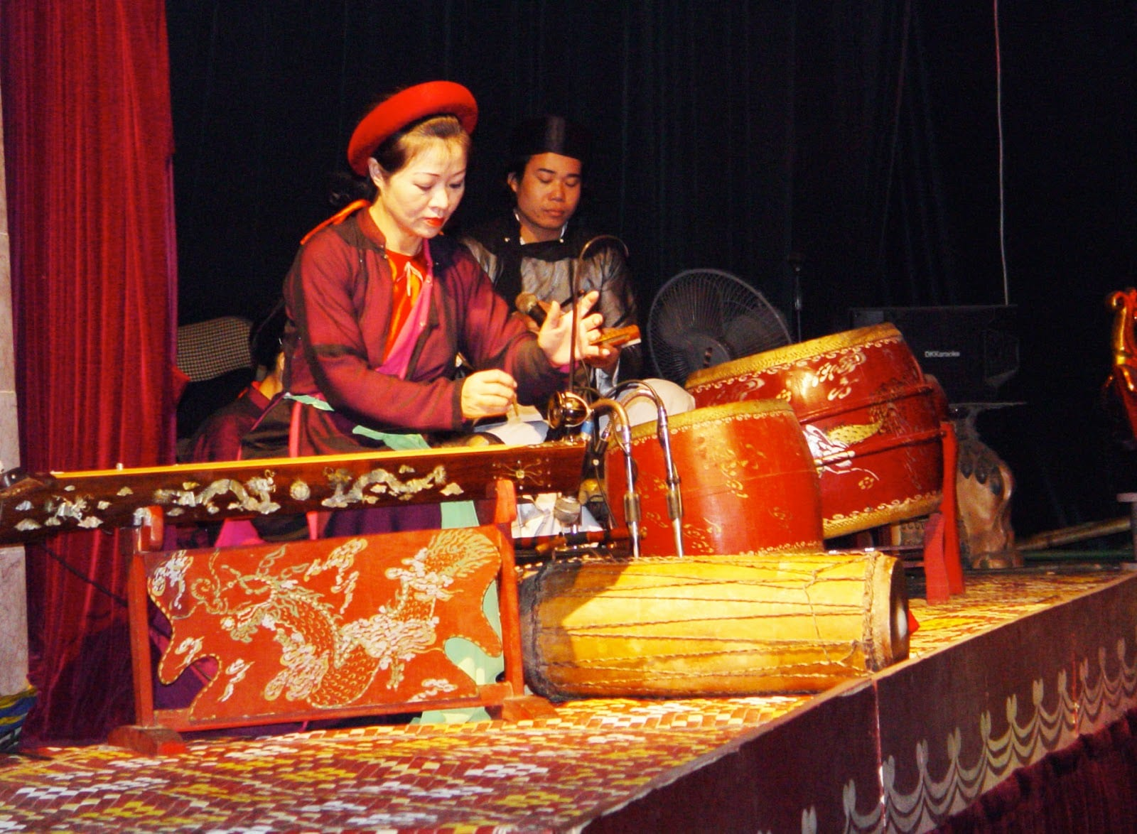 Vietnamese Theater: The Water Puppet Show in Hanoi - Water Puppet Show Musician