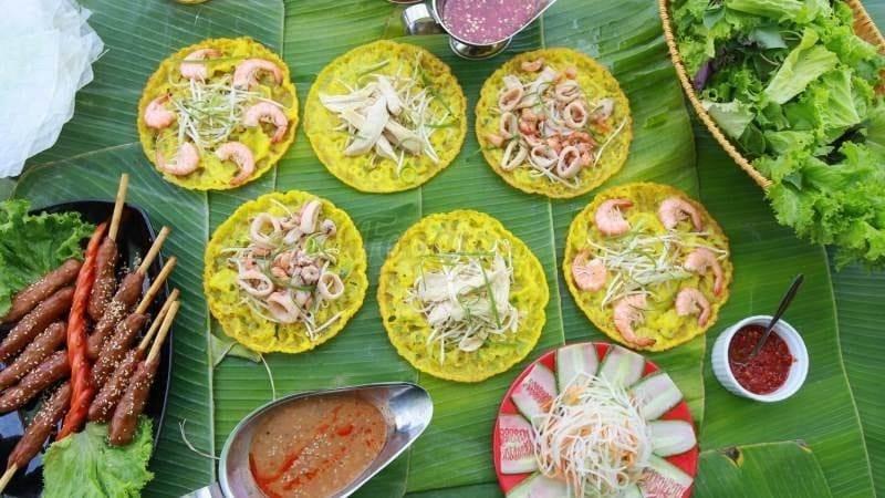 Where to eat in Da Nang Banh xeo 2