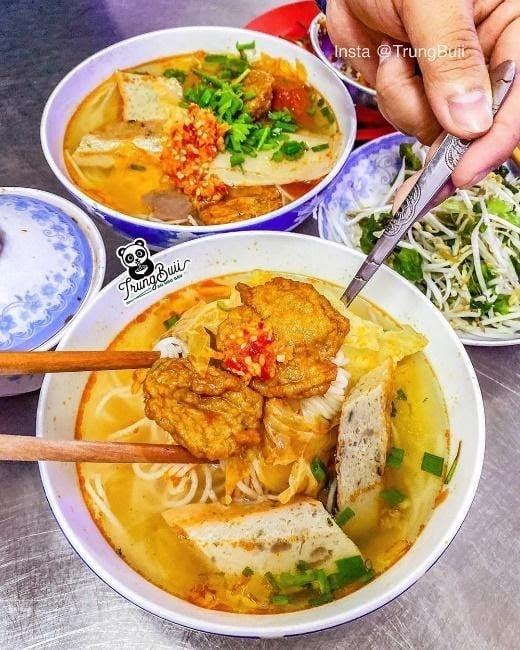 Where to eat in Da Nang Bun cha ca 1