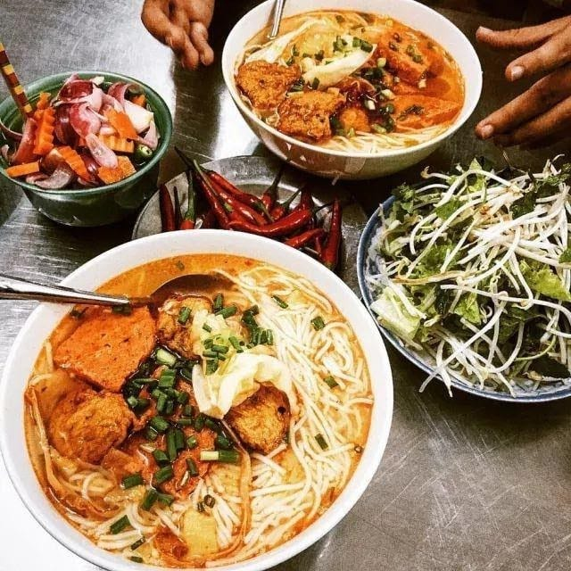 Where to eat in Da Nang Bun cha ca