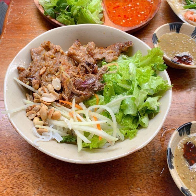 Where to eat in Da Nang Bun thit nuong