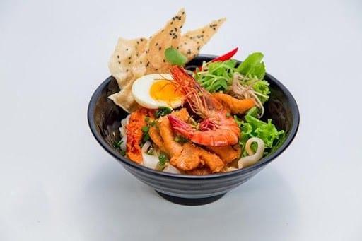 Where to eat in Da Nang Quang noodles