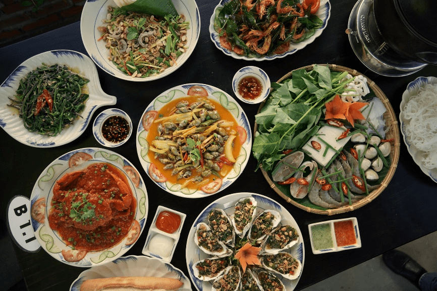 Where to eat in Da Nang Seafood 1