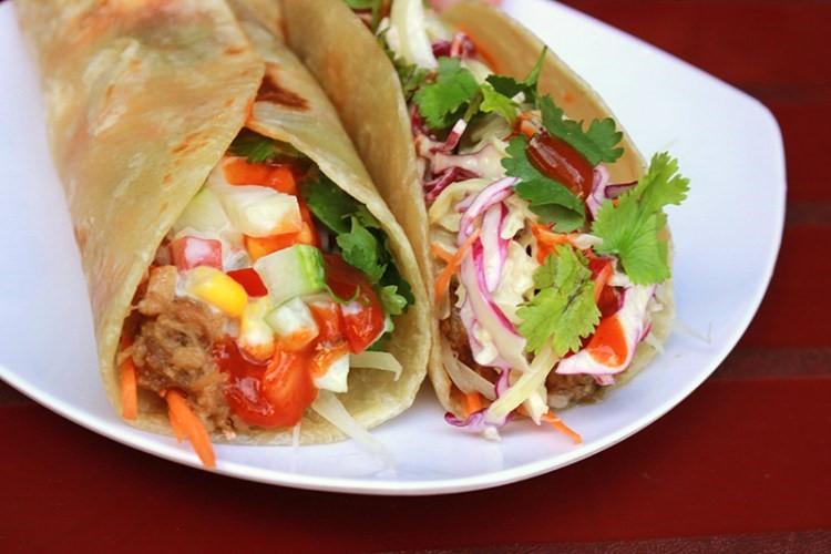Where to eat in Da Nang Taco 1