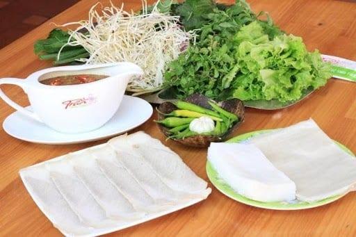 Where to eat in Da Nang Vietnamese pork rolls
