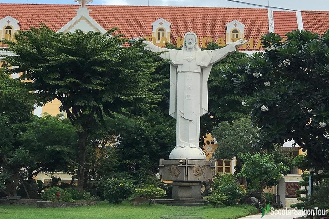 Tan Dinh Church in Ho Chi Minh City - The Pink Church