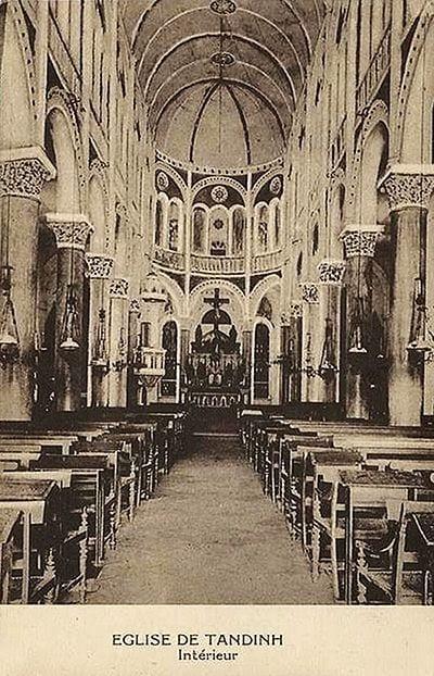 Tan Dinh Church in Ho Chi Minh City - The Pink Church - History