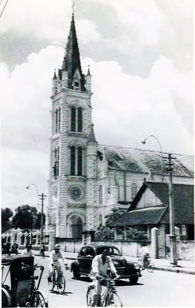 Tan Dinh Church in Ho Chi Minh City - The Pink Church - Architecture