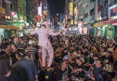 dance at Bui Vien