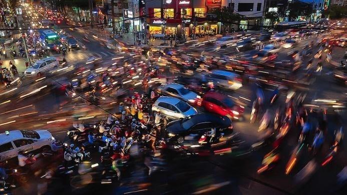 Ha Noi vs Ho Chi Minh - Traffic