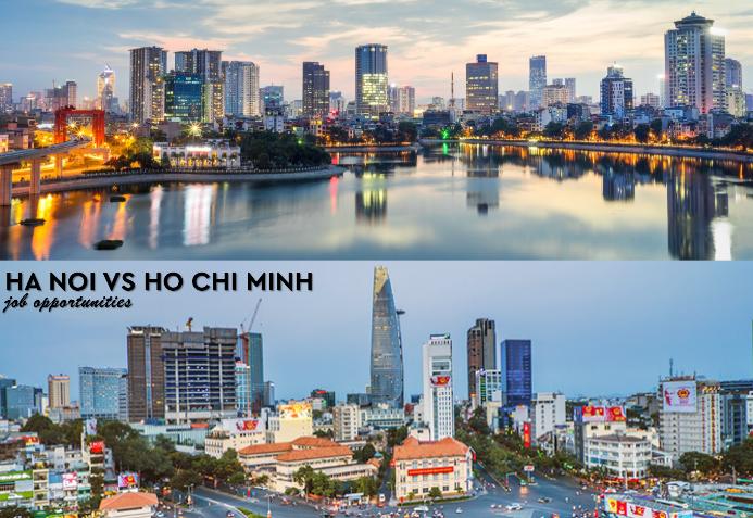Ha Noi vs Ho Chi Minh - Job Opportunities