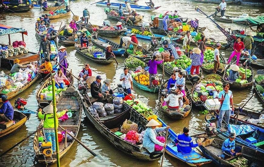 Things to do in Vietnam - Mekong Delta