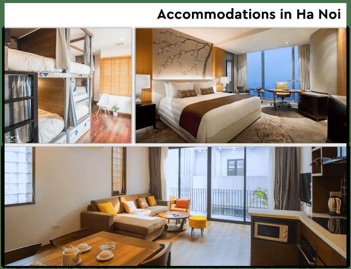 Ha Noi vs Ho Chi Minh - Accommodations
