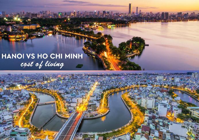 Ha Noi vs Ho Chi Minh - Cost of living