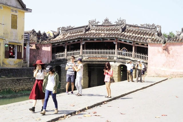 The Japanese Covered Bridge - The Legacy Of Ancient Japan In Hoi An - Renovation